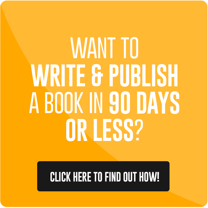 how to write a book in 90 days or less